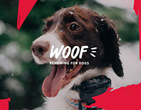 Woof! Dog Rescue Centre Branding & Website Design