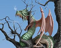 CUÉLEBRE (dragon of Asturian mythology)