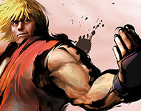 Street Fighter 4 Promo Site