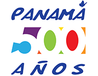 Panamá 500 Years Logo Design
