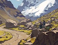Backpacking in Peru