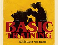 Basic Training Church Flyer Template