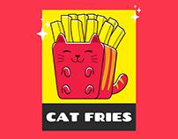 Cat fries