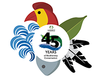 Haribon Foundation's 45th Anniversary Celebration Brand