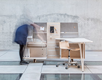JUST SUSPENDED_ solution for an open plan office