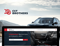 CVT Brothers - Web Design
