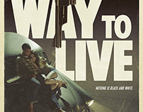 """No Way To Live"" Key Art"
