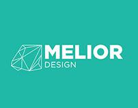 Melior Design Branding