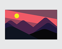 Great Smoky Sunset Poster