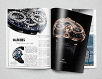 TodoColección Magazine. Propuesta-maquetación.