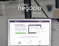 O Meu Negócio - Website