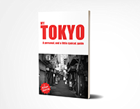 My Tokyo travel guide. Book cover v.2
