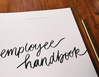 Employee Handbook Layout Design - She Reads Truth