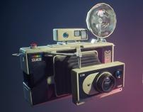 Private Eye Escape - Solaroid LC-350x camera