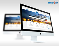CheapOair - Home Page Redesign