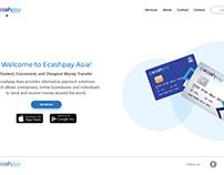 Ecashpay Asia (Web) UI/UX (Ongoing)