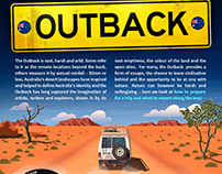 Taking on the Outback - infographic