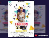 Fashion Show Flyer PSD Template
