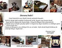 Diorama Nedir ?Gül ipek .istanbul /Türkiye