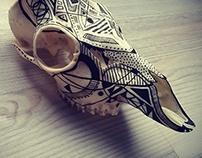 skull art / roe