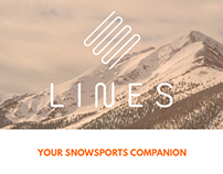 Lines, your snow sports companion.