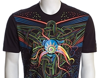 Fusion UV D70 - Psychedelic T-Shirt
