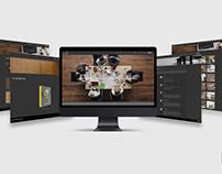 Arctonic Laminate Website Design
