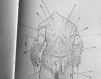 SKETCHBOOK SKETCH DUMP - Weekly  sketches and inks