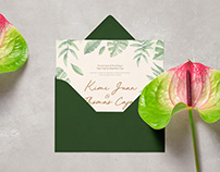 Juan & Caja Wedding Invite