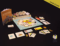 """Creation Of City"" Board Game"
