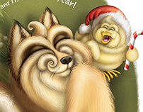 Fox & Chick / Christmas gretings