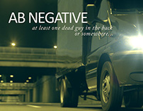 CGI Titles for AB Negative feature film