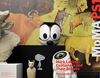 Mark Leckey Exhibit Brochure Redesign