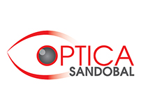 ISOLOGO OPTICA SANDOBAL