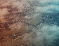 Experimenting with photos shot from the sky
