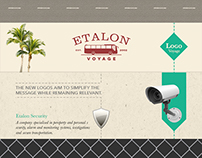Etalon Voyage & Security • Rebranding