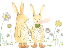 illustrated bunny stories
