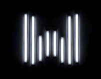 Strip Light Typography