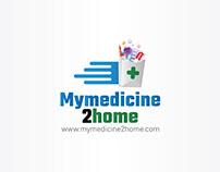 mymedicine2home.com Logo