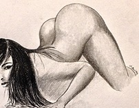 Nude models sketches & anatomy