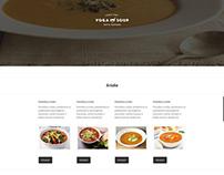 Soup Restaurant Website Design and Development