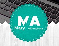 Оформление группы «Mary Akhmetova»