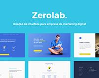 UI Design Zerolab | Landing Page