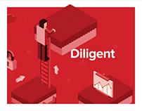Diligent | Illustration redesign