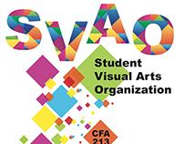 Student Visual Art Organization Poster