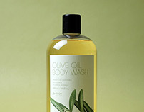 McEvoy Olive Oil Body Care Series Packaging