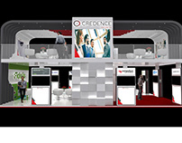 Credence Security Exhibition stand
