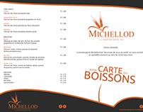 Carte des boissons BOULANGERIE MICHELLOD