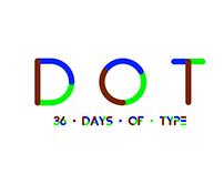 DOT: 36 Days of Type - 2016