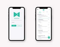 Korero- Mail Service | UI/UX